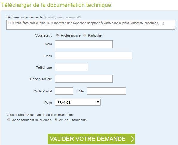 fiche produit documentation technique