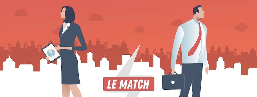 Marketplace B2B vs. salon professionnel : le match en image !