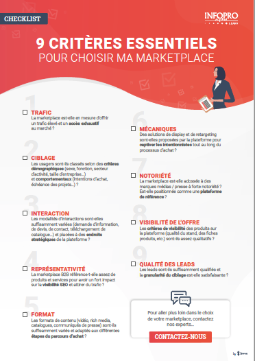checklist marketplace B2B